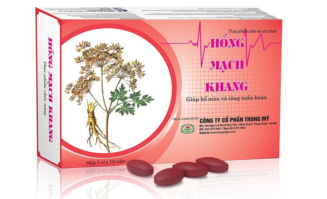Hồng Mạch Khang – Lựa chọn tốt nhất cho người huyết áp thấp, thiếu máu, suy nhược cơ thể